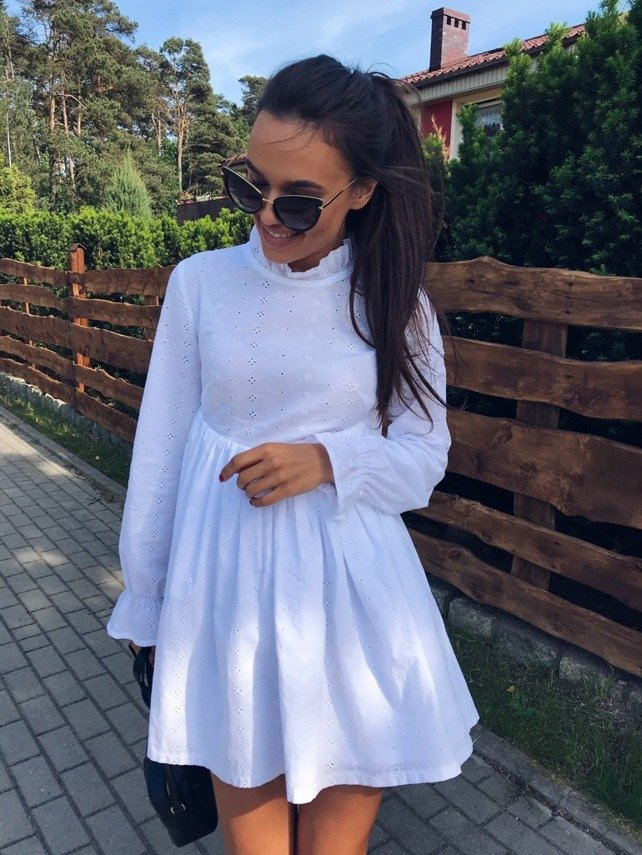 BABY WHITE DRESS PRE- ORDER