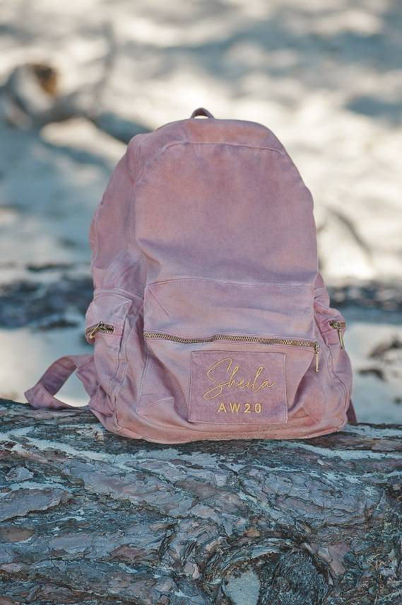 ROSE DIRTY BACKPACK | SHEILA AW20